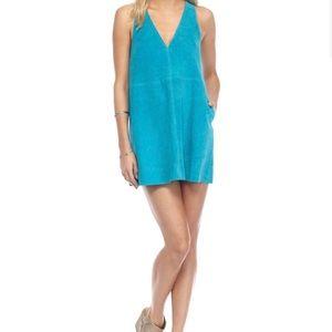 Brand New— Free People Retro Love Suede Dress